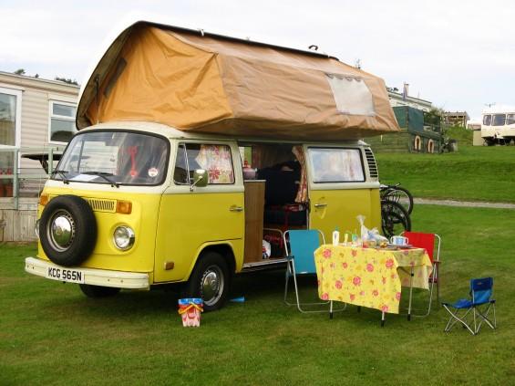 A bay camper