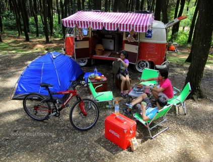 Using a campervan, we can carry lot of stuffs helping our family picnic more enjoyable & convenient.