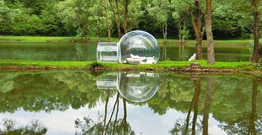 7 Transparent bubble tent 1