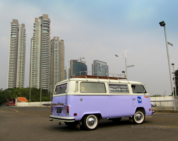 The city campervan